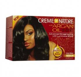 CREME OF NATURE ARGAN OIL RELAXER KIT REGULAR