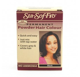 STA SOFT FRO POWDER HAIR COLOR BLACK 6G