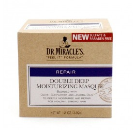 DR.MIRACLES DOUBLE DEEP MOISTURIZING MASQUE 339GR