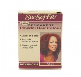 STA SOFT FRO POWDER HAIR COLOR AUBURN 6G