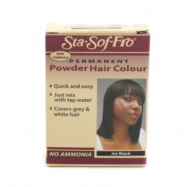 STA SOFT FRO POWDER HAIR COLOR JET BLACK 6G