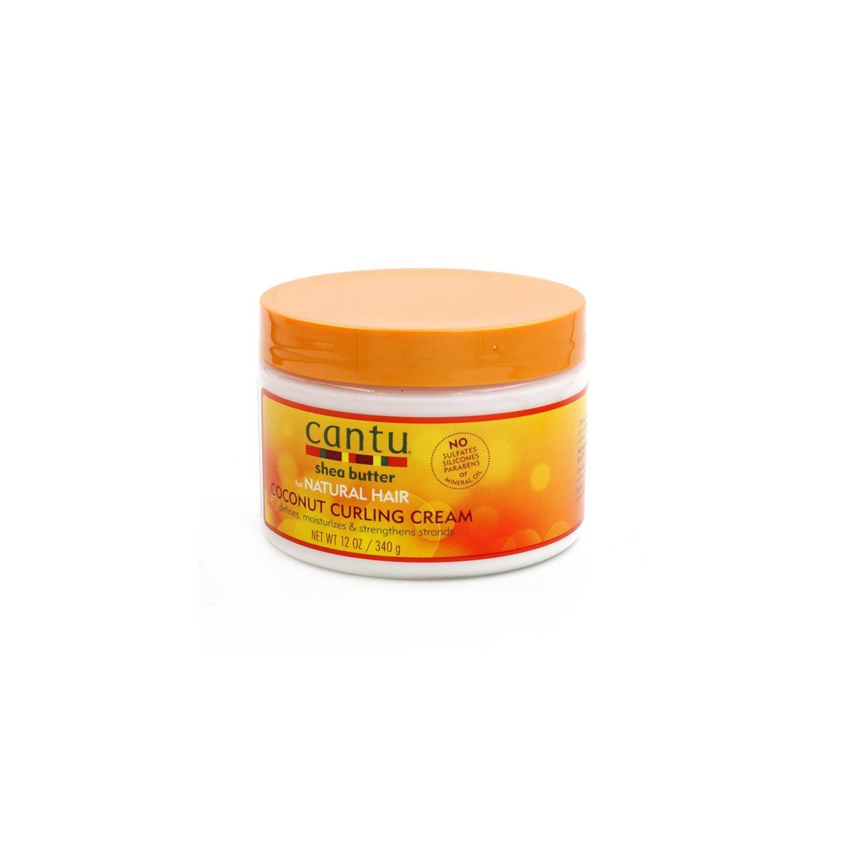 CANTU SHEA BUTTER NATURAL HAIR COCONUT CURLING CREAM 340 gr