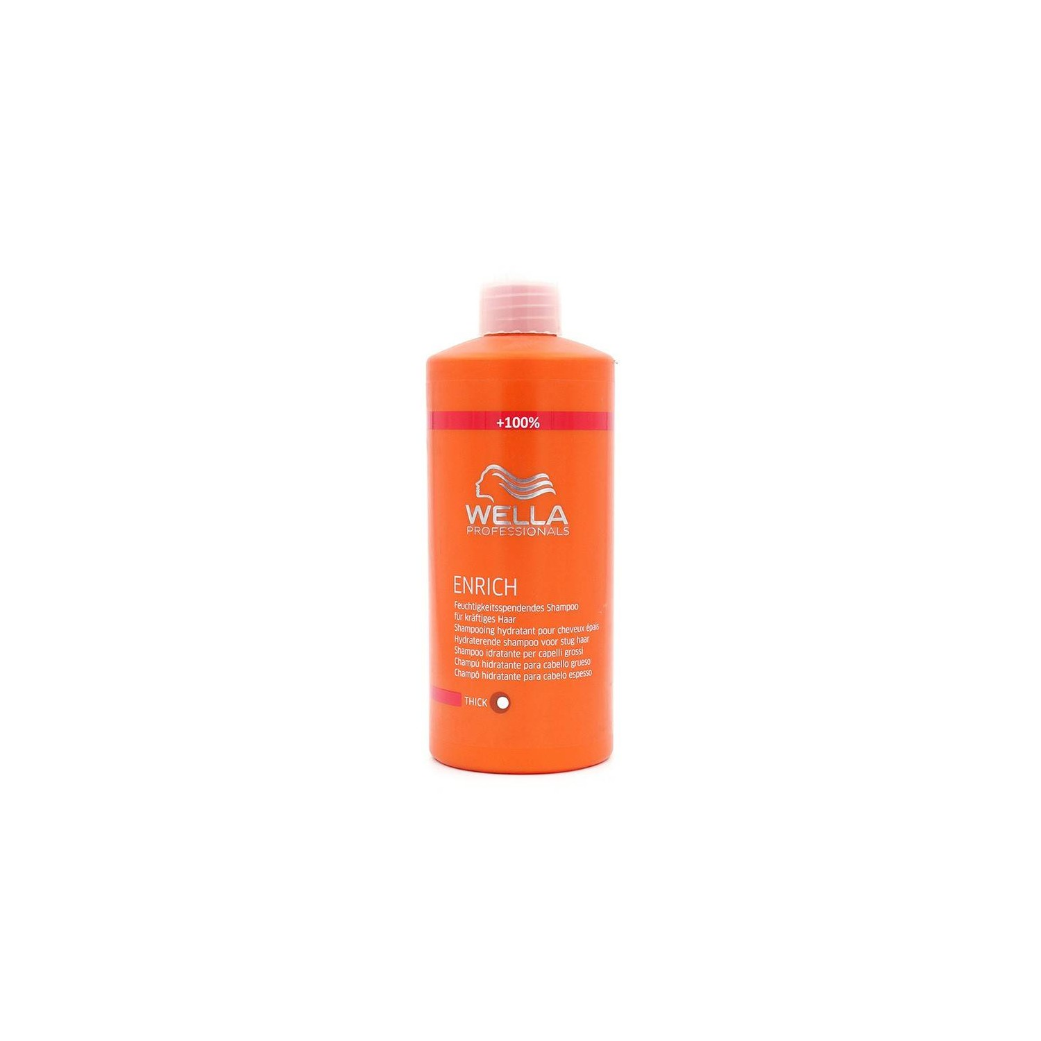 Wella Enrich Shampoo Shampoo Thick Hair 1000 Ml
