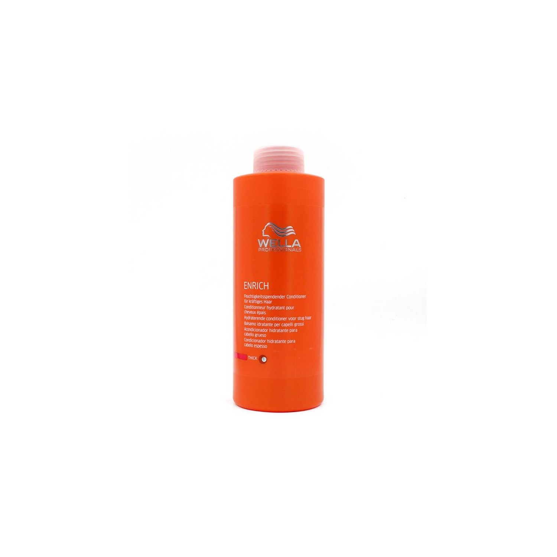Wella Enrich Shampoo Conditioner Thick Hair 1000 Ml