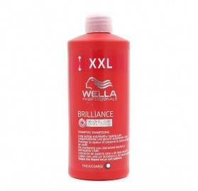 Wella Brilliance Shampoo Thick Hair 1000 Ml