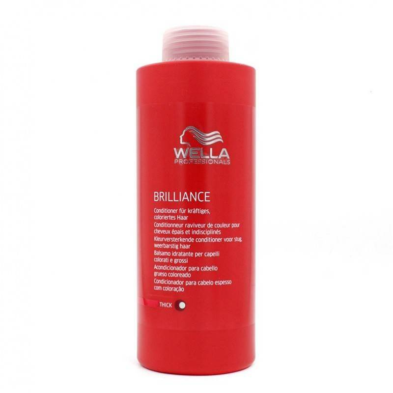 Wella Brilliance Conditioner Thick Hair 1000 Ml