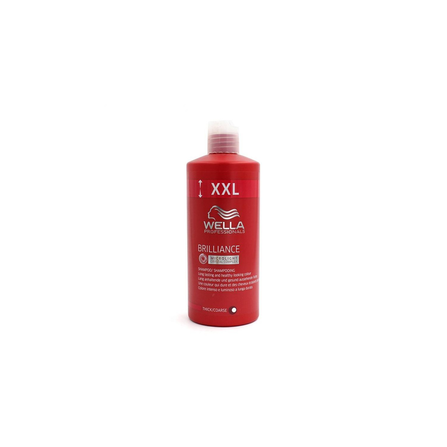 Wella Brilliance Champú Cabello Normal/fino 1000 Ml
