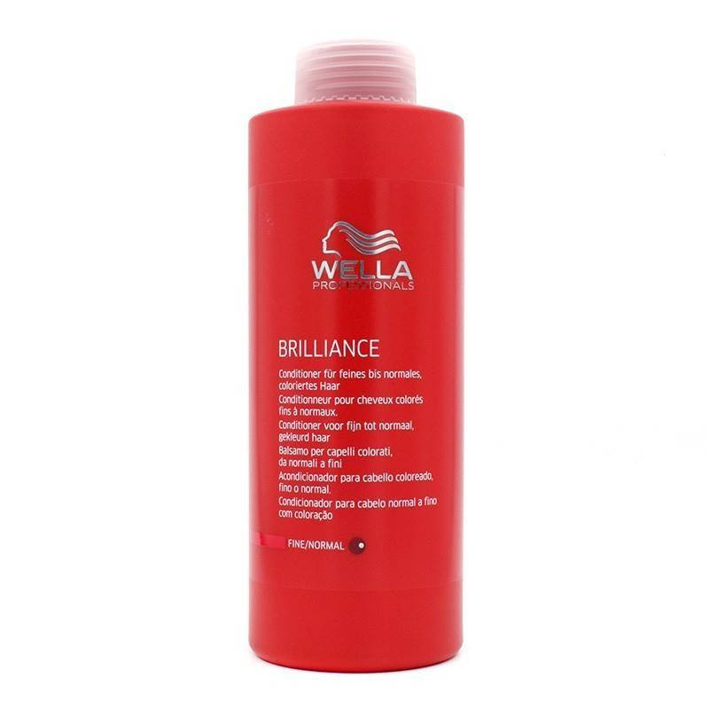Wella Brilliance Conditioner Thin Hair/normal 1000 Ml