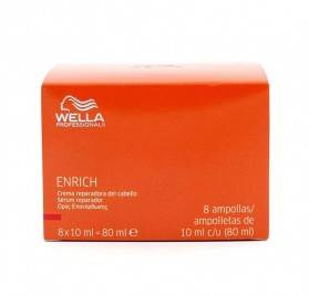 WELLA ENRICH SHAMPOO SERUM REPAIRER 8X10 ml