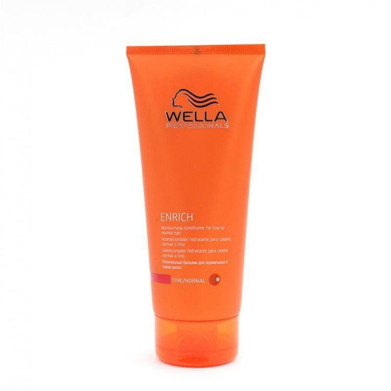 Wella Enrich Shampoo Conditioner Hair Thin/normal 200 Ml