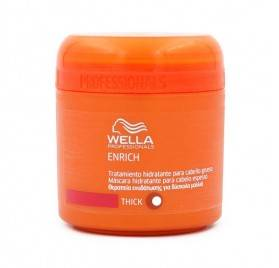 Wella Enrich Shampoo Mask Moisturizing Thick Hair 150 Ml