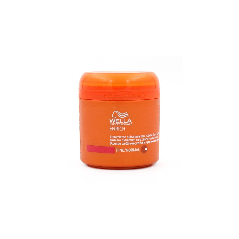 Wella Enrich Shampoo Mask Moisturizing Thin Hair/normal 150 Ml