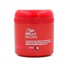 Wella Brilliance Mascarilla Cabello Grueso 150 Ml