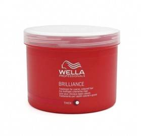 WELLA BRILLIANCE MASCARILLA CABELLO GRUESO 500 ml
