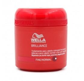 WELLA BRILLIANCE MASK THIN HAIR/NORMAL 150 ml