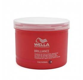 Wella Brilliance Mascarilla Cabello Fino/normal 500 Ml