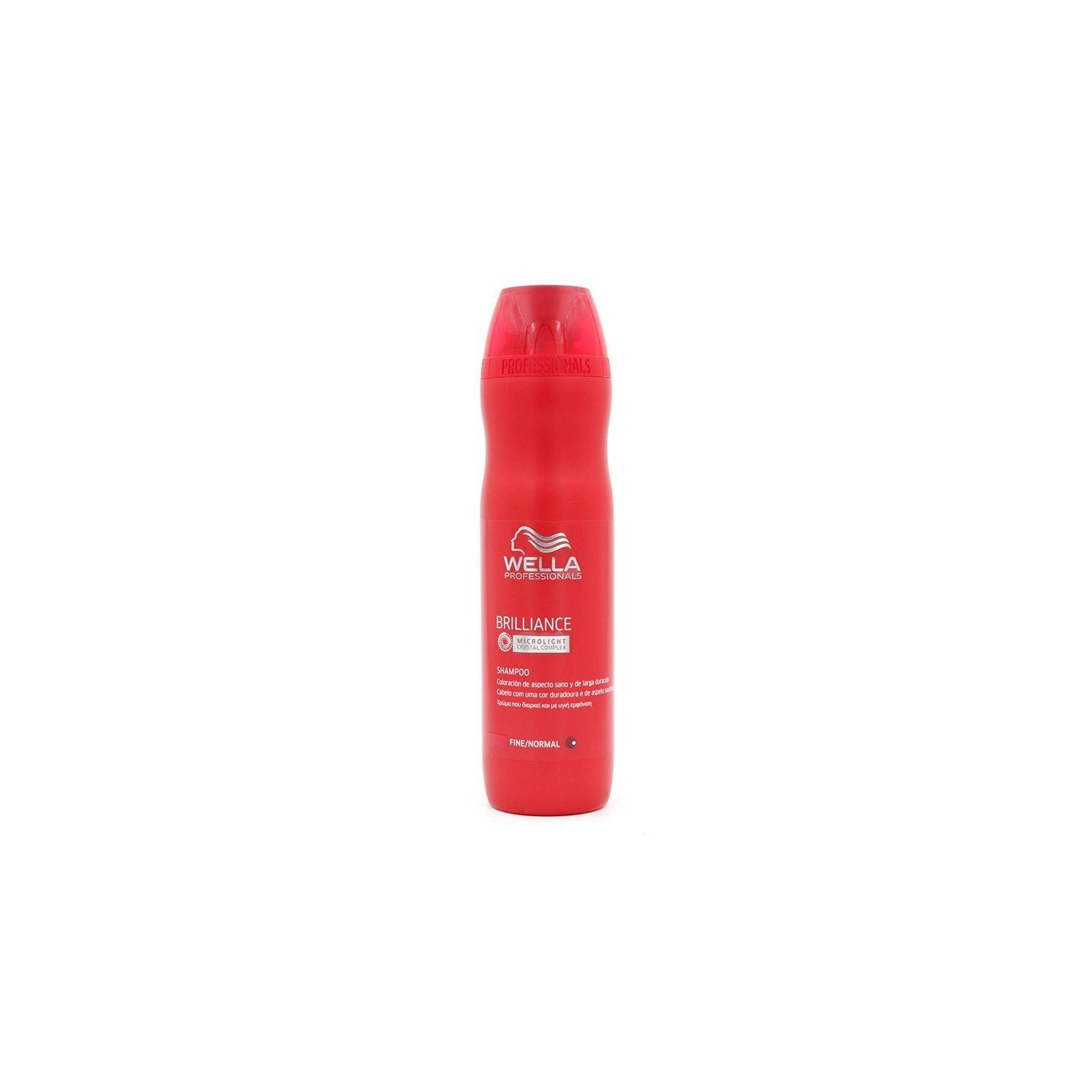 WELLA BRILLIANCE CHAMPÚ CABELLO NORMAL/FINO 250 ml