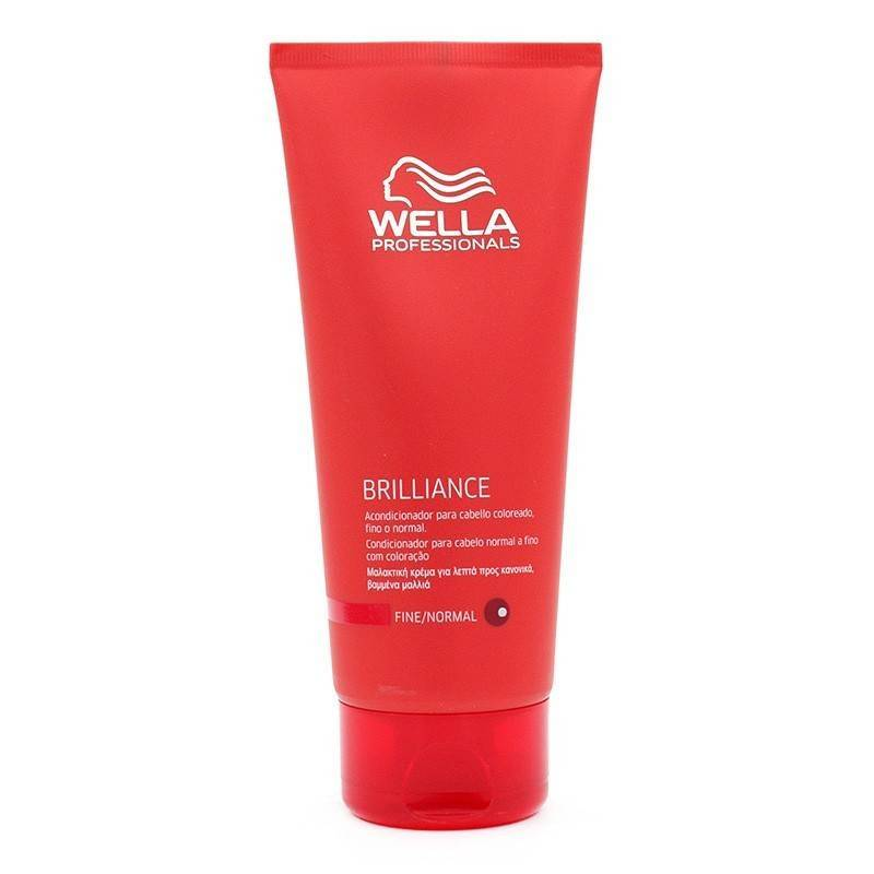 Wella brilliance apr s shampooing cheveux mince normal for Apres shampooing maison
