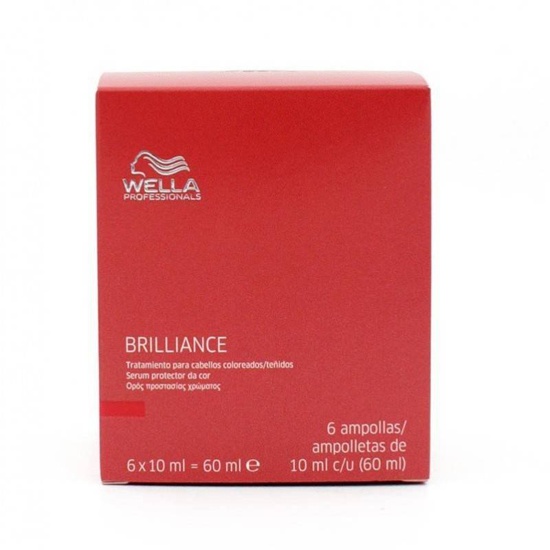 Wella Brilliance Serum Protector Color 6x10 Ml