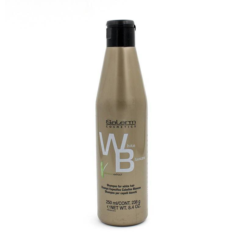 Salerm White Silver Shampoo 250 Ml