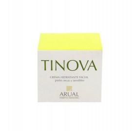 Arual Tinova Creme Hidratante Facial Pelees Suaves Y Sensivel 50 Ml