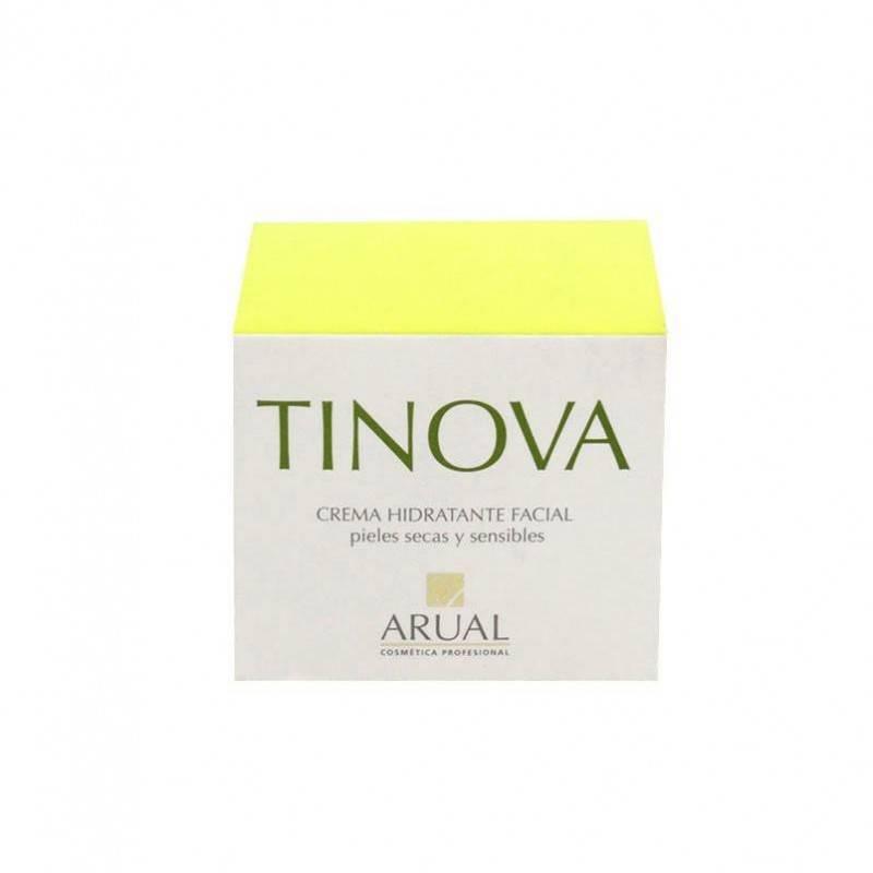 Arual Tinova Crema Hidratante Facial Pieles Suaves Y Sensibles 50 Ml