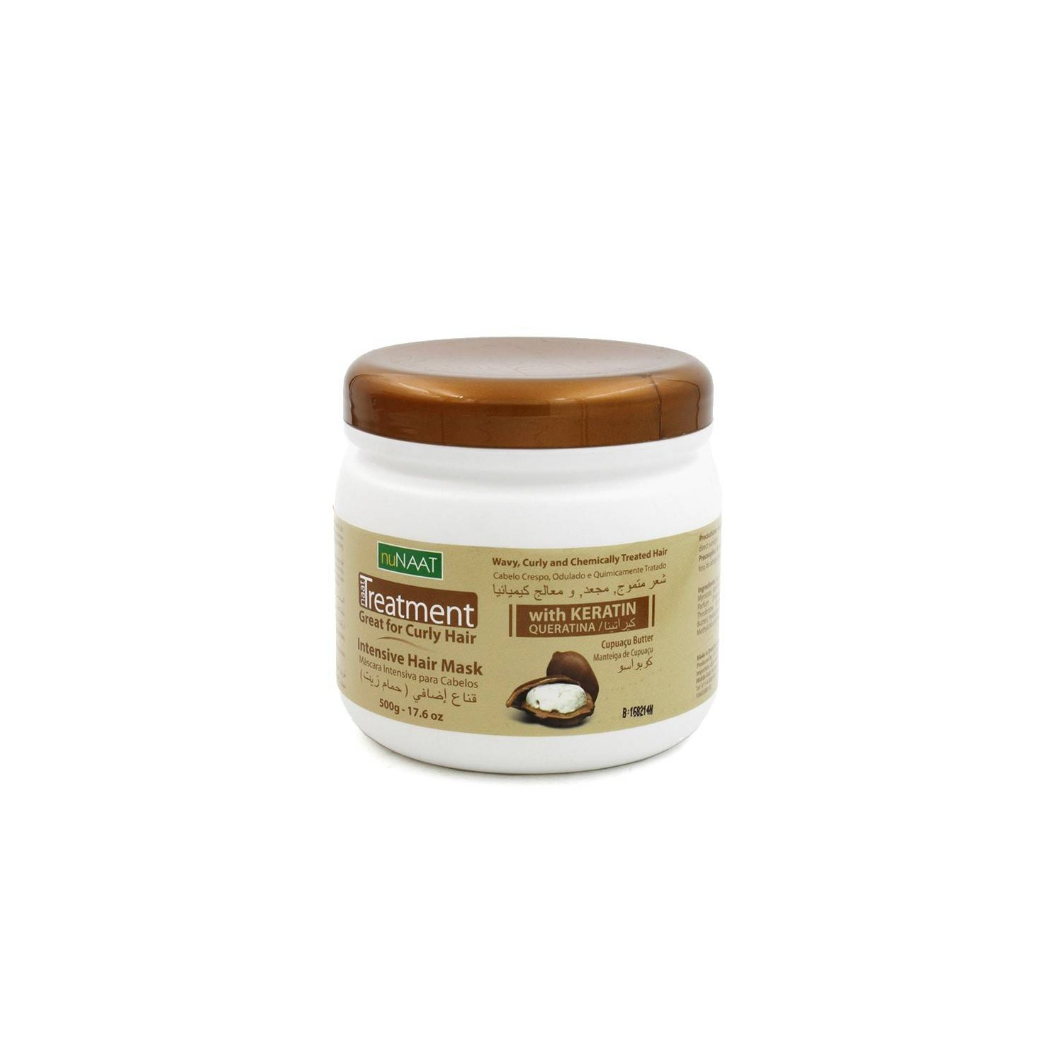 Nunaat Tratamiento Curly Hair Mascarilla Intensiva 500 Gr