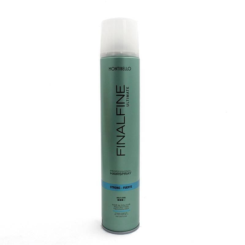 Montibello Finalfine Hairspray Fuerte Flexible 500 Ml