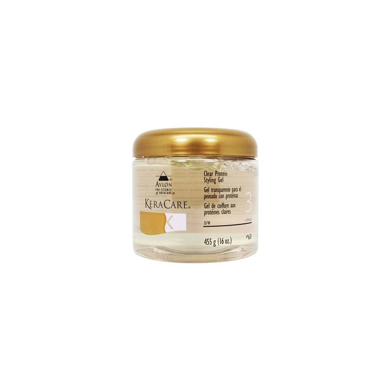 Avlon Keracare Clear Protein Styling Gel 455 Gr