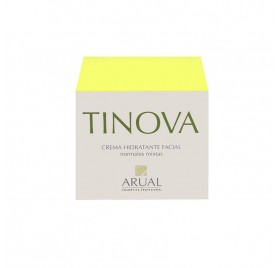Arual Tinova Crema Hidratante Facial Pieles Normal Y Mixtas 50 Ml