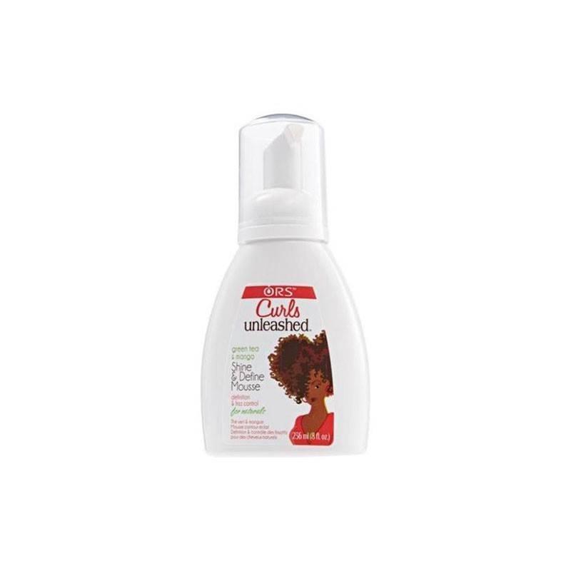 Ors Curls Unleashed Mousse Shine & Define 236 Ml