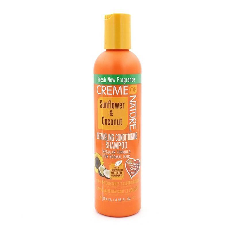 Creme Of Nature Sunflower & Coconut Champú Detangling Acondicionador 250 Ml