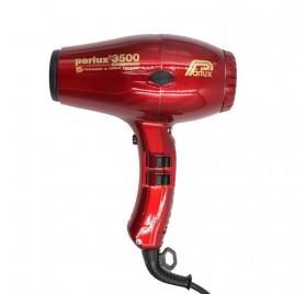 Parlux Secador 3500 Ceramic Ionic Rojo