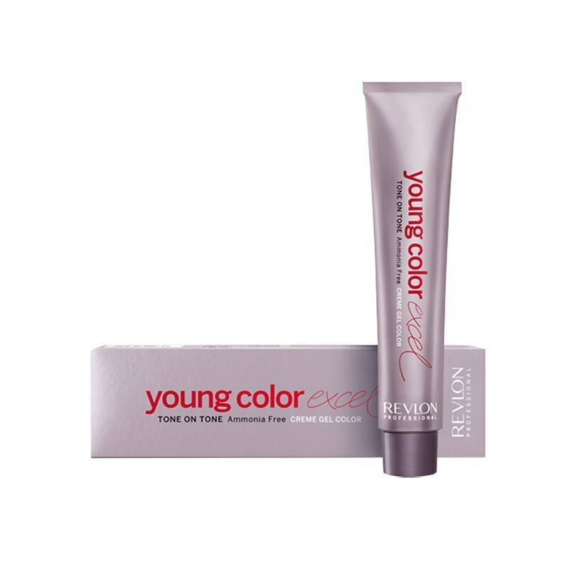 Revlon Young Color Excel 70 Ml, Color 6.66