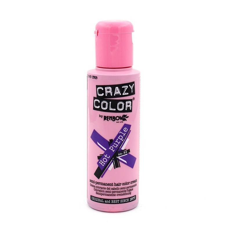Crazy Color 62 Hot Purple 100 Ml