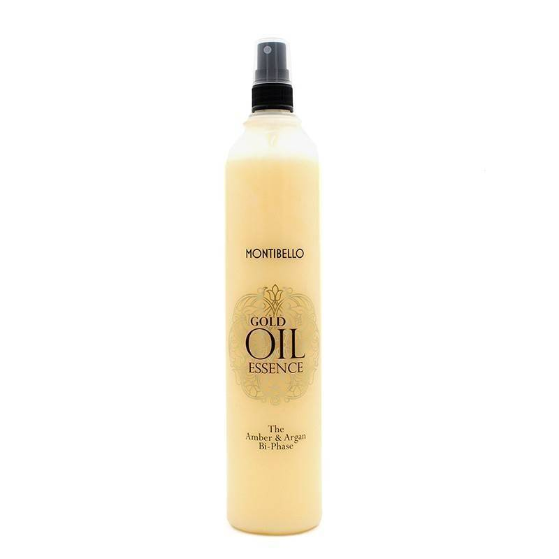 Montibello Gold Essence Amber Y Argan Bi Phase 400 Ml