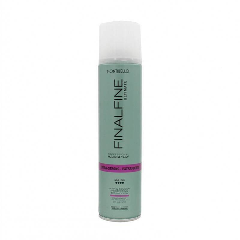 Montibello Finalfine Hairspray Extra Strong Without Gas 400 Ml