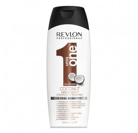 Revlon Uniq One Acondicionador Champú Coconut 300 Ml