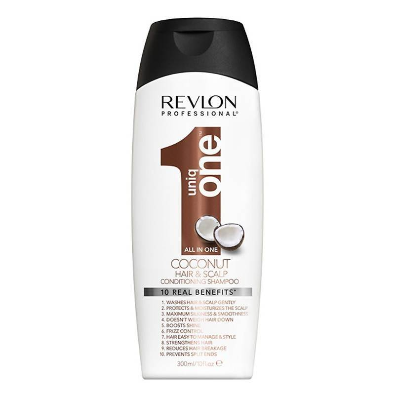 Revlon Uniq One Acondicionador Champú Coconut 300 Ml