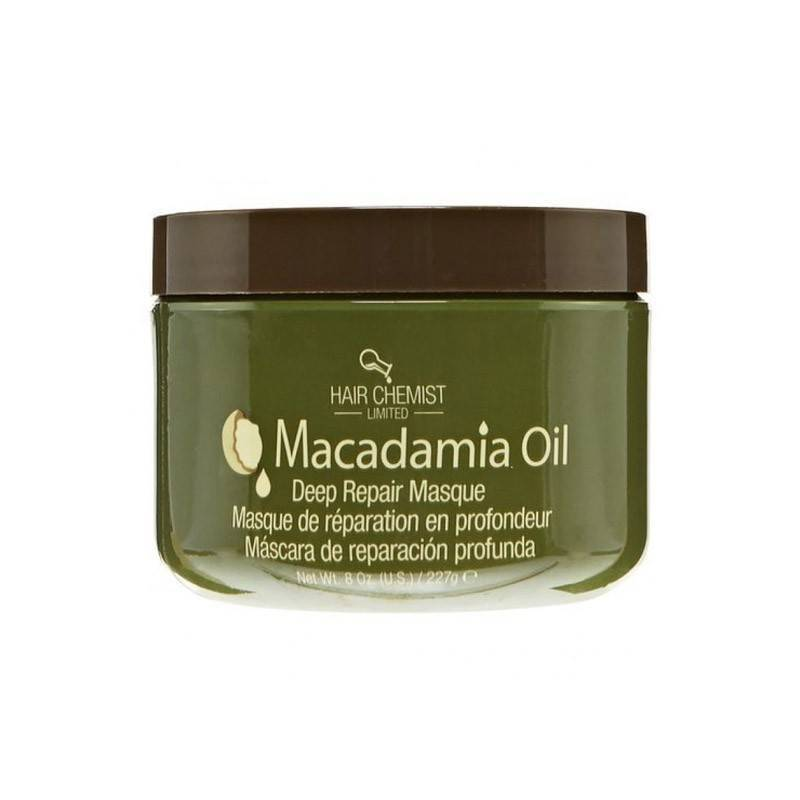 Hair Chemist Macadamia Oil Deep Repair Mask 227 Gr