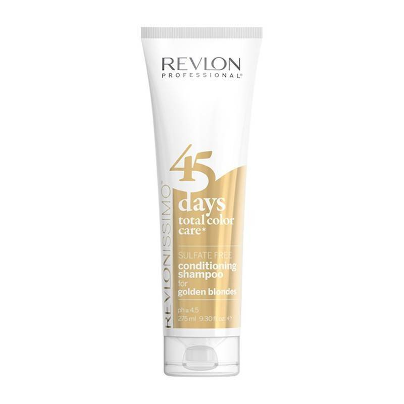 Revlon 45 Days Shampooing Couleur Golden Blondes 275 Ml