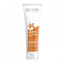 Revlon 45 Days Champú Color Intense Copper 275 Ml