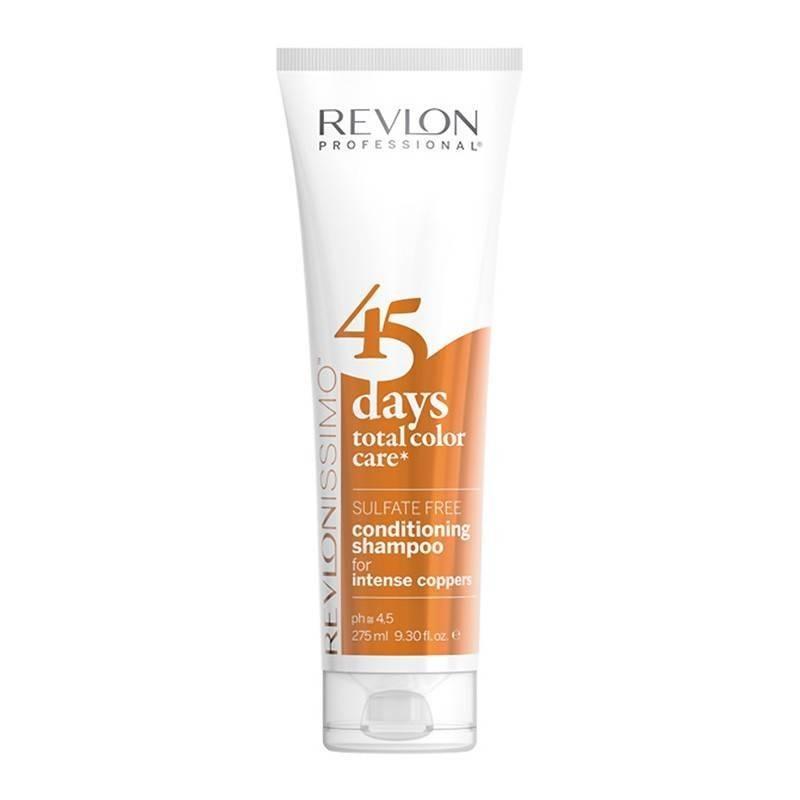 Revlon 45 Days Shampooing Couleur Intense Copper 275 Ml