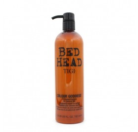 Tigi Bed Head Color Goddess Oil Infused Shampoo 750 Ml