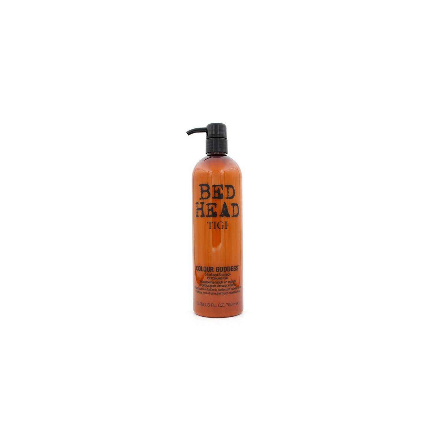Tigi Bed Head Couleur Goddess Oil Infused Shampooing 750 Ml