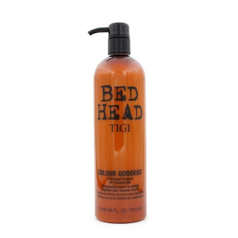 Tigi Bed Head Color Goddess Oil Infused Champú 750 Ml