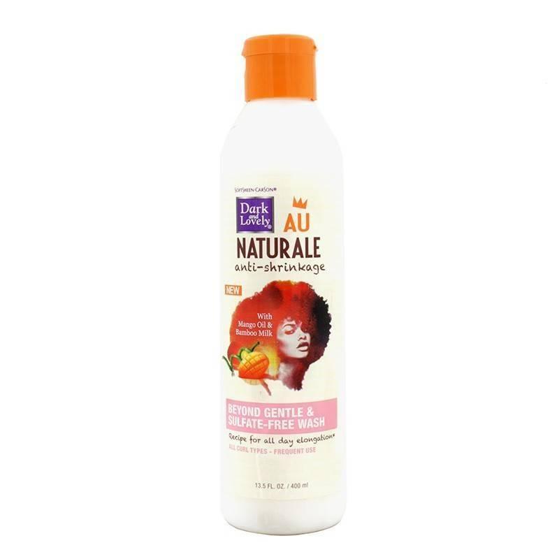 Dark & Lovely Au Naturale Anti-shrinkage Wash Sulfate Free 400 Ml