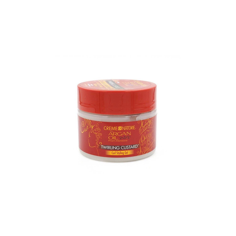 Creme Of Nature Argan Oil Twirling Custard 340 Ml