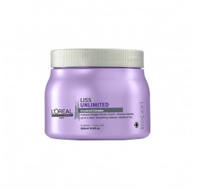 Loreal Expert Mascarilla Liss Unlimited 500 Ml