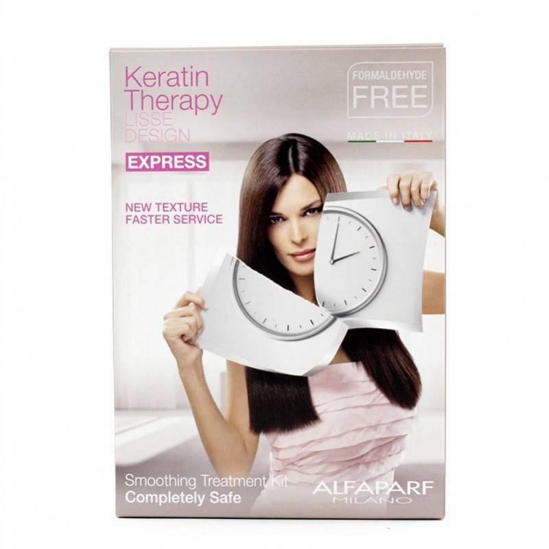 Alfaparf Keratin Lisse Desing Kit Tratamiento (express)